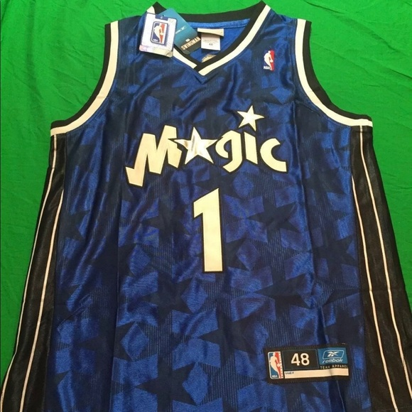 100% authentic d8492 5ab87 Tracy McGrady Orlando Magic Jersey